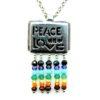 Ciondolo Peace and Love in argento