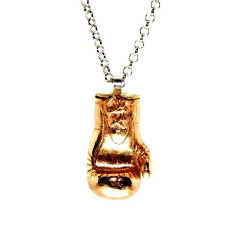 Ciondolo Guantone Boxe in bronzo o argento