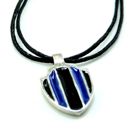 Collana My Club Inter con cordella cerata